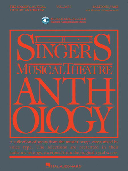 The Singer's Musical Theatre Anthology - Volume 1 - Baritone/Bass