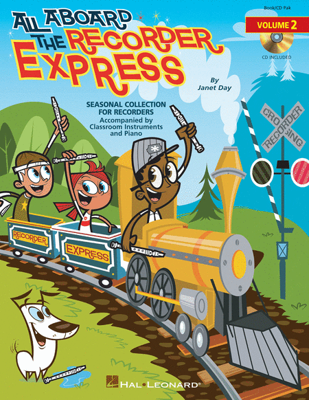 All Aboard the Recorder Express - Volume 2