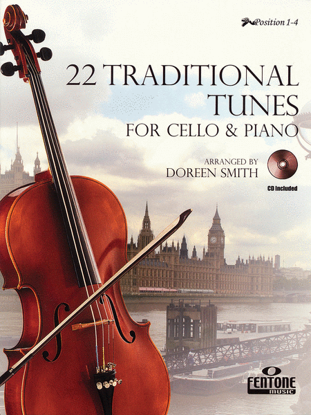22 Traditional Tunes for Cello & Piano