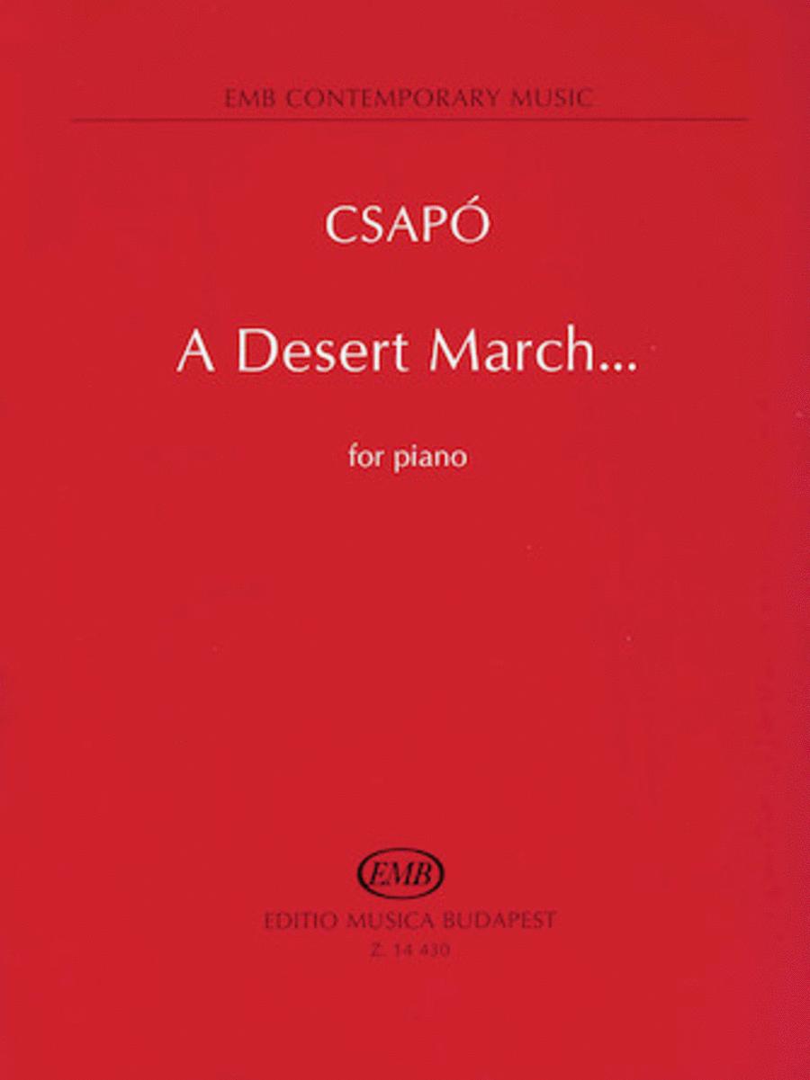 A Desert March...