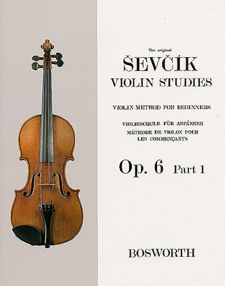 Violin Studies - Violin Method For Beginners, Op. 6, Part 1