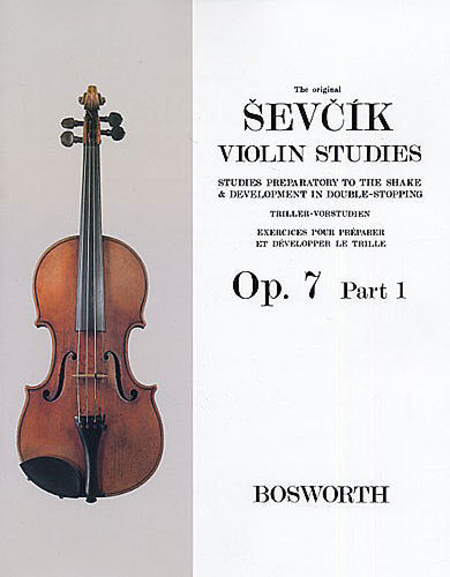 The Original Sevcik Violin Studies, Op. 7 - Part 1