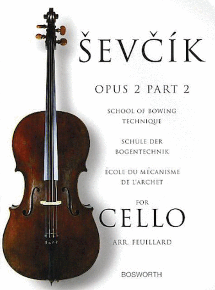 Sevcik for Cello - Opus 2, Part 2
