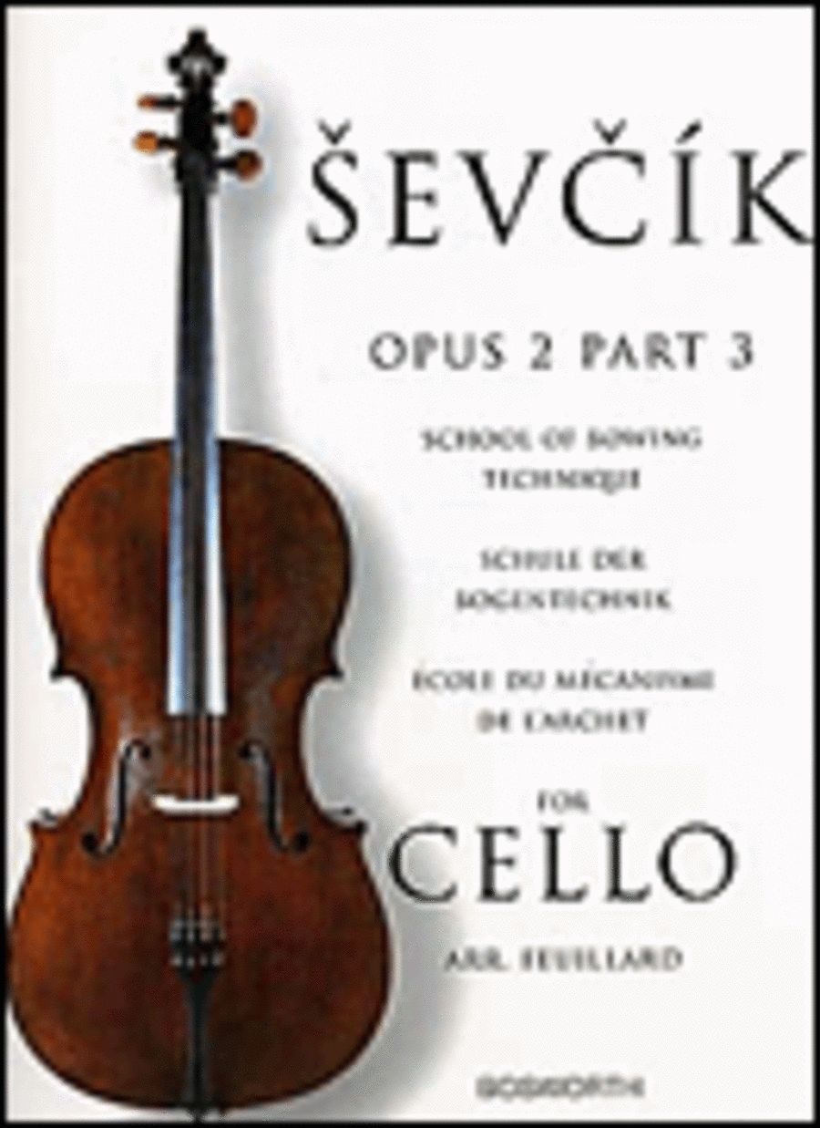 Sevcik for Cello - Opus 2, Part 3