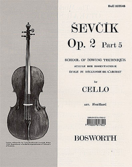 Sevcik for Cello - Op. 2, Part 5