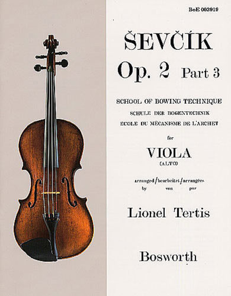 Sevcik for Viola - Opus 2, Part 3