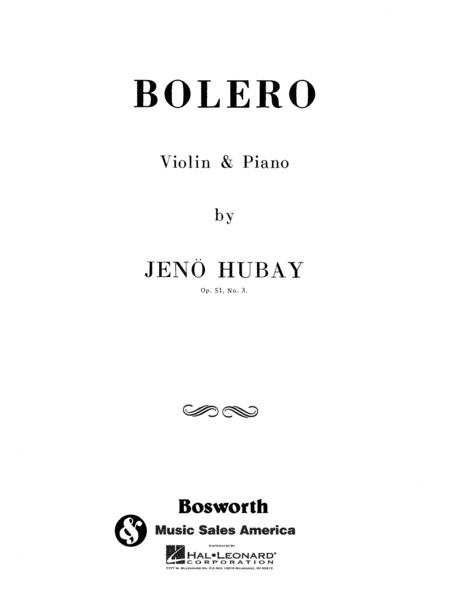 Bolero, Op. 51 No. 3