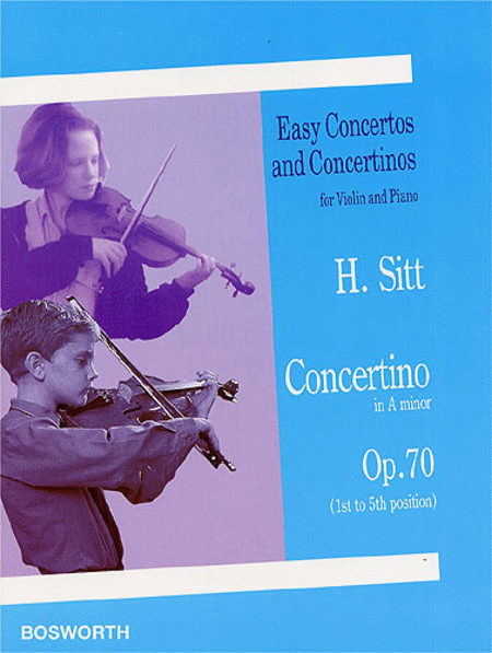 Concertino in A Minor for Violin and Piano, Op. 70