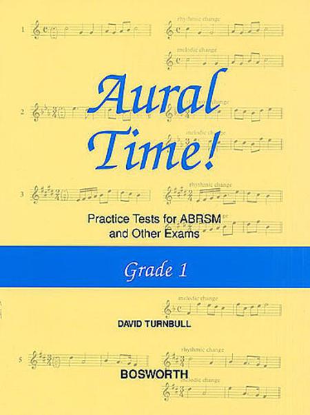 David Turnbull: Aural Time! Practice Tests - Grade 1