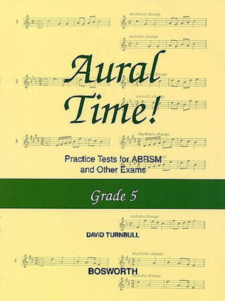 Aural Time! Practice Tests - Grade 5