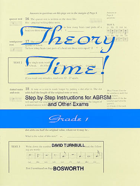 David Turnbull: Theory Time - Grade 1