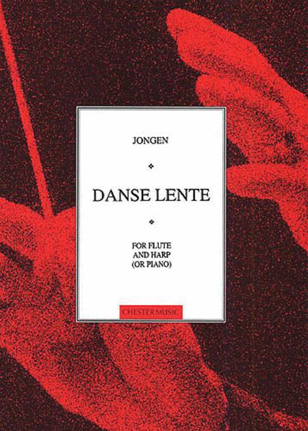 Joseph Jongen: Danse Lente (Flute and Harp Or Piano)