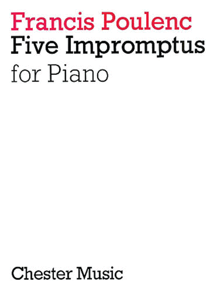5 Impromptus for Piano