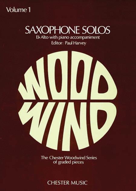 Saxophone Solos Volume 1