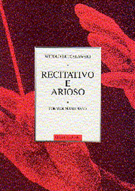 Witold Lutoslawski: Recitativo E Arioso For Violin And Piano