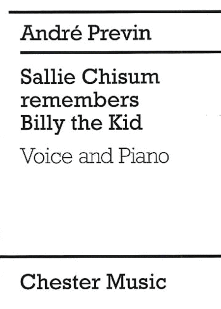 Sallie Chisum Remembers Billy the Kid