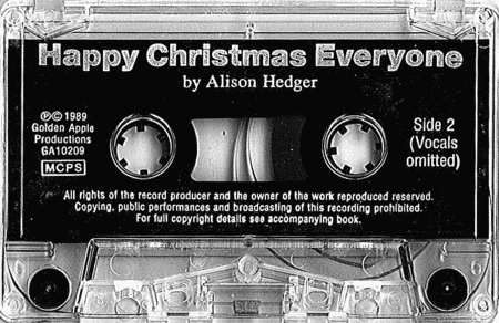 Alison Hedger: Happy Christmas Everyone (Cassette)