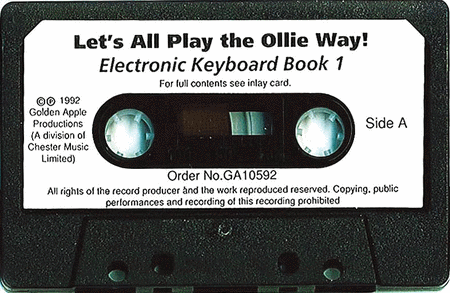Alison Hedger: Let's All Play The Olly Way! Book 1 (Cassette)