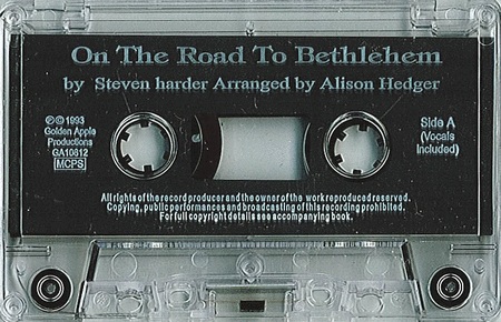Steven Harder: On The Road To Bethlehem (Cassette)