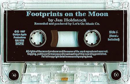 Jan Holdstock: Footprints On The Moon - Apollo 11 (Cassette)