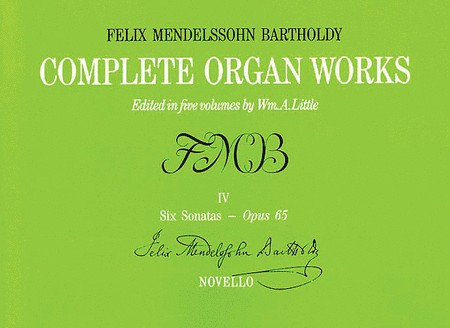 Complete Organ Works - Volume IV