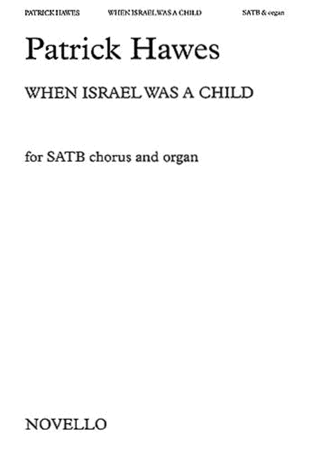 When Israel Was a Child