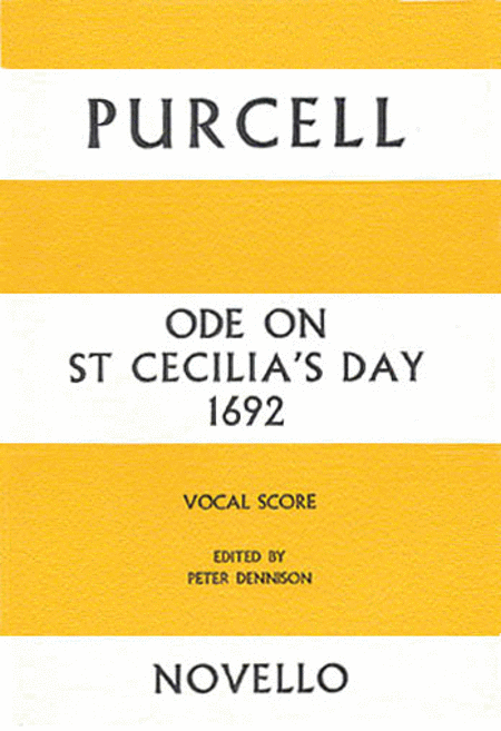 Ode on St Cecilia's Day