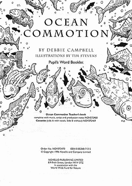 Debbie Campbell: Ocean Commotion (Pupil's Book)
