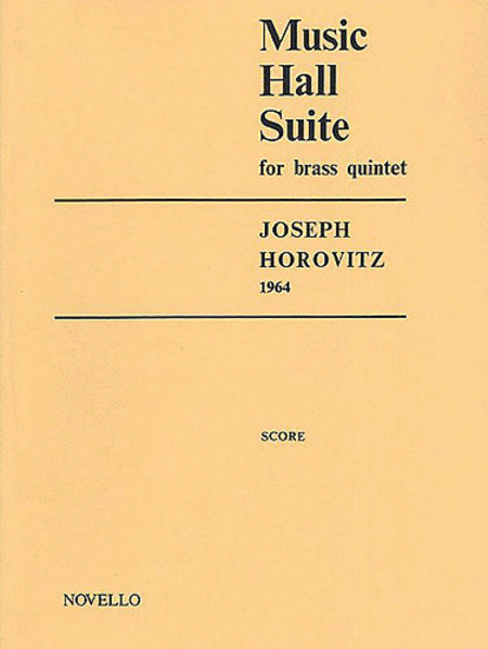 Music Hall Suite for Brass Quintet