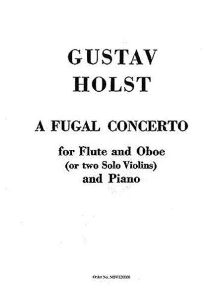 Fugal Concerto Op. 40, No. 2
