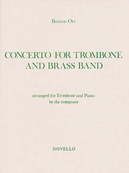 Buxton Orr: Concerto for Trombone and Brass Band