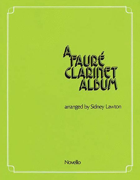 A Faure Clarinet Album