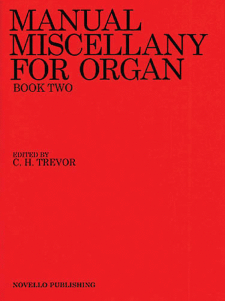 Manual Miscellany for Organ - Book Two