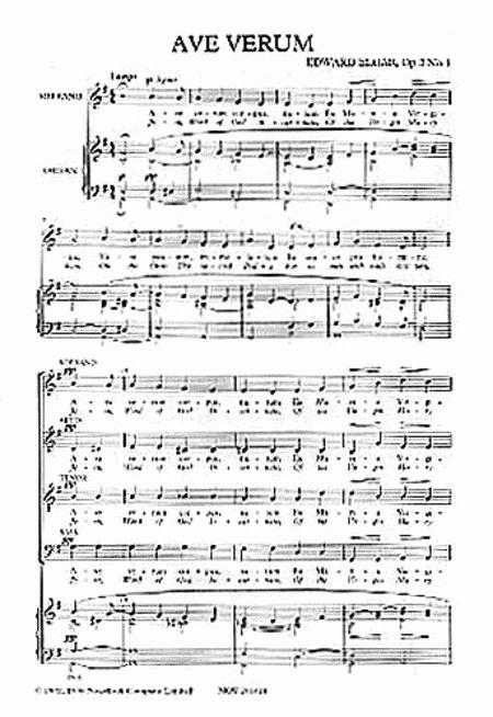 Ave Verum - Op. 2, No. 1