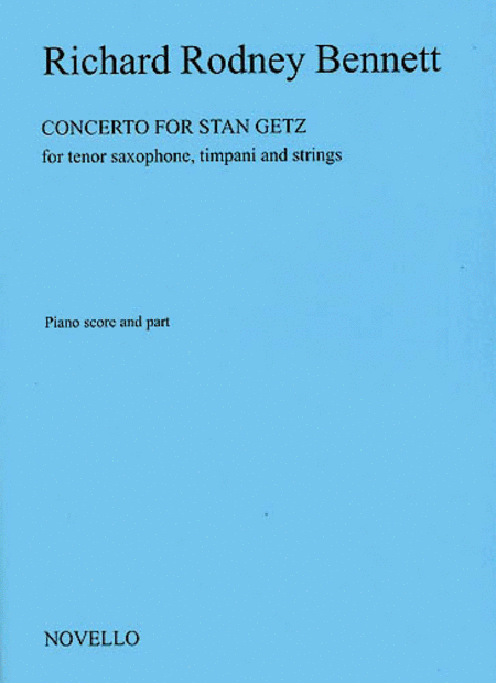 Concerto for Stan Getz