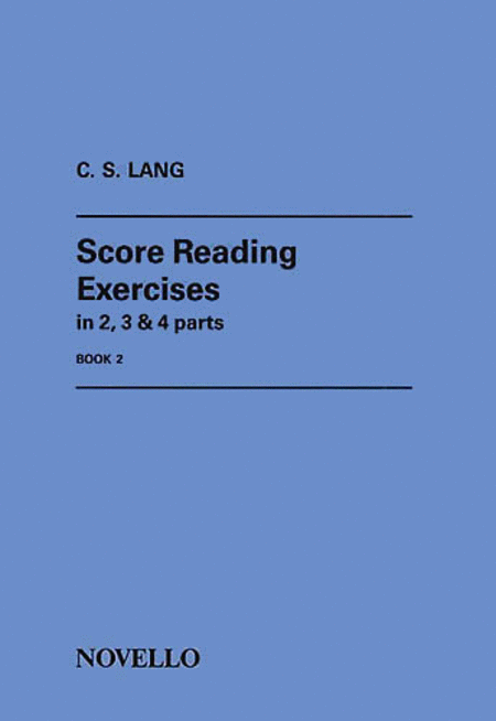 Score Reading Exercises - Book 2
