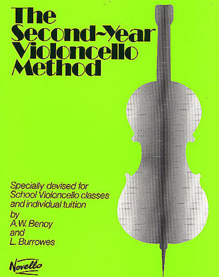The Second-Year Cello Method