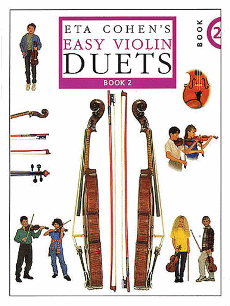 Eta Cohen's Easy Violin Duets - Book 2