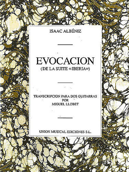 Albeniz Evocacion (llobet) 2 Guitars