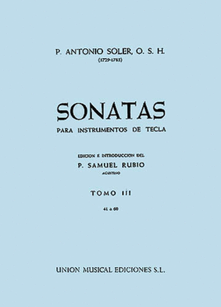 Sonatas - Volume Three: Nos. 41-60