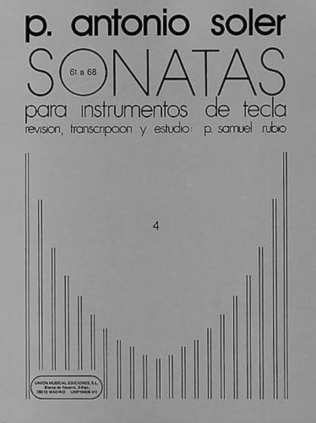 Sonatas - Volume 4: Nos. 61-68
