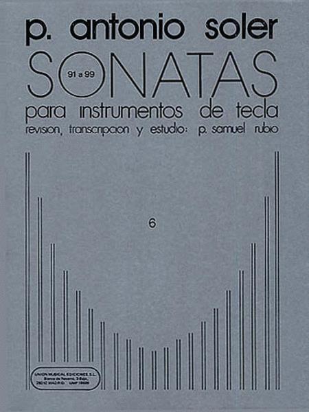 P. Antonio Soler: Sonatas Volume Six