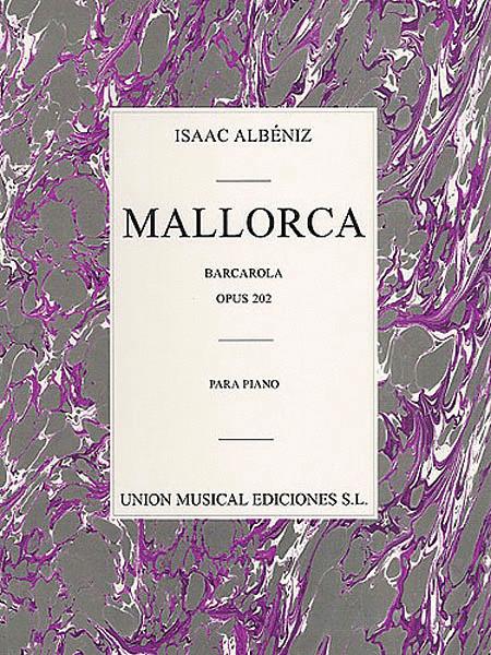 Albeniz Mallorca Barcarola Op.202 Piano