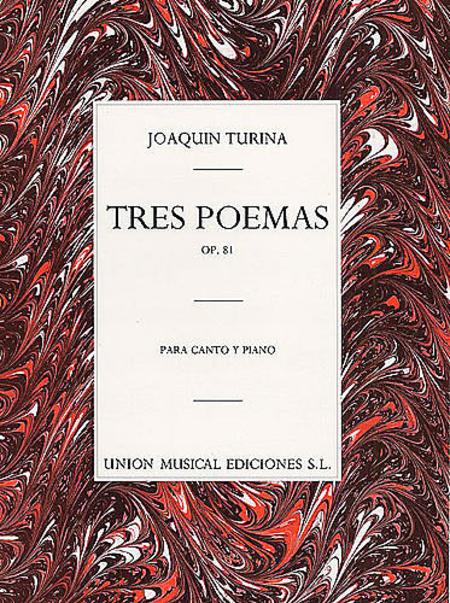 Tres Poemas, Op.81