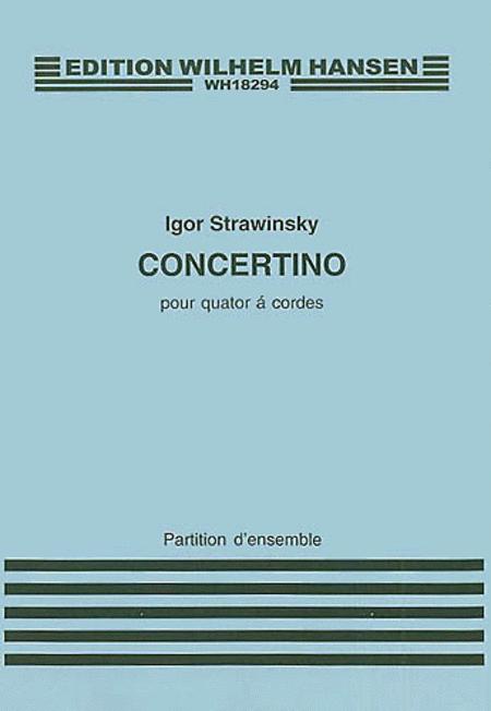 Concertino for String Quartet