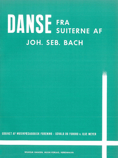 J.S. Bach: Album Of Nineteen Dances For Piano