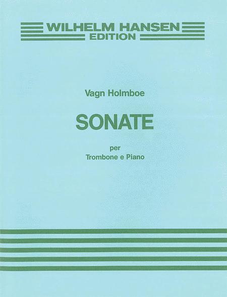 Holmboe Sonata Op.172 Tbn/Pf