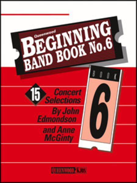 beginning band book no 6 flute sheet music by john edmondson anne mcginty sheet music plus. Black Bedroom Furniture Sets. Home Design Ideas