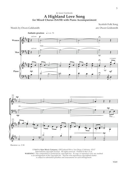 A Highland Love Song