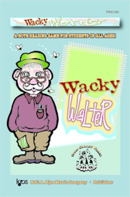 Wacky Words starring Walter (Jumbo Size)